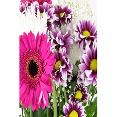 Purple White Flower Bouquet 5 5  X 8 5  Notebooks by Simbadda