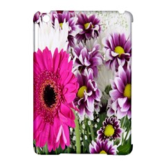 Purple White Flower Bouquet Apple Ipad Mini Hardshell Case (compatible With Smart Cover) by Simbadda