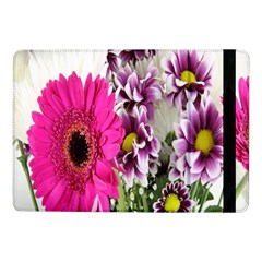 Purple White Flower Bouquet Samsung Galaxy Tab Pro 10 1  Flip Case by Simbadda