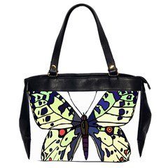 A Colorful Butterfly Image Office Handbags (2 Sides)  by Simbadda