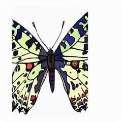 A Colorful Butterfly Image Small Garden Flag (two Sides) by Simbadda