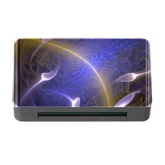 Fractal Magic Flames In 3d Glass Frame Memory Card Reader With Cf by Simbadda