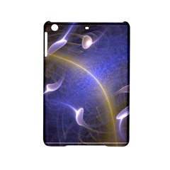 Fractal Magic Flames In 3d Glass Frame Ipad Mini 2 Hardshell Cases by Simbadda