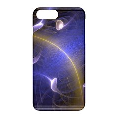 Fractal Magic Flames In 3d Glass Frame Apple Iphone 7 Plus Hardshell Case by Simbadda