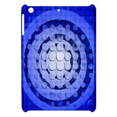 Abstract Background Blue Created With Layers Apple Ipad Mini Hardshell Case by Simbadda