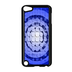 Abstract Background Blue Created With Layers Apple Ipod Touch 5 Case (black) by Simbadda