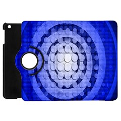Abstract Background Blue Created With Layers Apple Ipad Mini Flip 360 Case by Simbadda