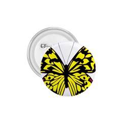 Yellow A Colorful Butterfly Image 1 75  Buttons by Simbadda