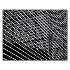 Abstract Architecture Pattern Rectangular Jigsaw Puzzl by Simbadda