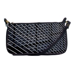 Abstract Architecture Pattern Shoulder Clutch Bags by Simbadda