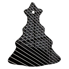 Abstract Architecture Pattern Christmas Tree Ornament (two Sides) by Simbadda