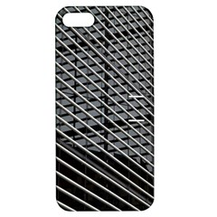 Abstract Architecture Pattern Apple Iphone 5 Hardshell Case With Stand by Simbadda