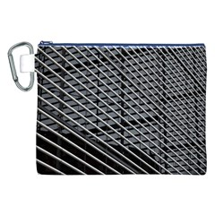 Abstract Architecture Pattern Canvas Cosmetic Bag (xxl) by Simbadda