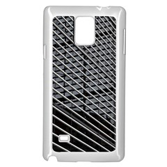 Abstract Architecture Pattern Samsung Galaxy Note 4 Case (white) by Simbadda