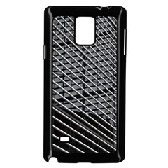 Abstract Architecture Pattern Samsung Galaxy Note 4 Case (black) by Simbadda