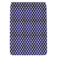 Squares Blue Background Flap Covers (s)  by Simbadda