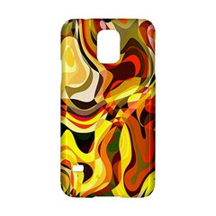 Colourful Abstract Background Design Samsung Galaxy S5 Hardshell Case  by Simbadda
