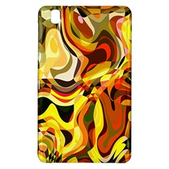 Colourful Abstract Background Design Samsung Galaxy Tab Pro 8 4 Hardshell Case by Simbadda