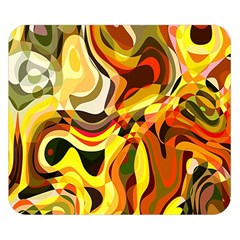 Colourful Abstract Background Design Double Sided Flano Blanket (small)  by Simbadda
