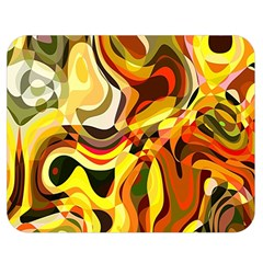 Colourful Abstract Background Design Double Sided Flano Blanket (medium)  by Simbadda