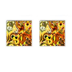 Colourful Abstract Background Design Cufflinks (square) by Simbadda