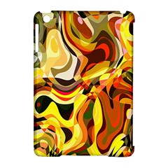 Colourful Abstract Background Design Apple Ipad Mini Hardshell Case (compatible With Smart Cover) by Simbadda