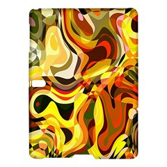 Colourful Abstract Background Design Samsung Galaxy Tab S (10 5 ) Hardshell Case  by Simbadda