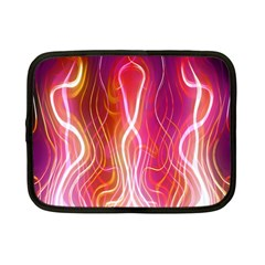 Fire Flames Abstract Background Netbook Case (small)  by Simbadda