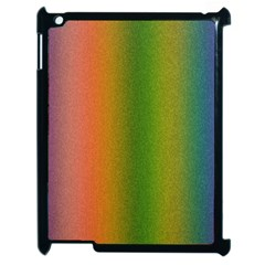 Colorful Stipple Effect Wallpaper Background Apple Ipad 2 Case (black) by Simbadda