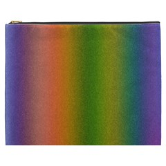 Colorful Stipple Effect Wallpaper Background Cosmetic Bag (xxxl)  by Simbadda