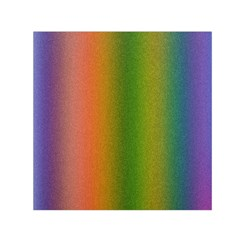 Colorful Stipple Effect Wallpaper Background Small Satin Scarf (square) by Simbadda