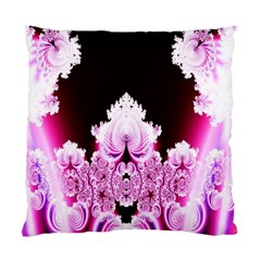 Fractal In Pink Lovely Standard Cushion Case (one Side) by Simbadda