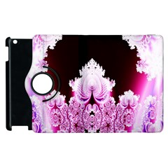 Fractal In Pink Lovely Apple Ipad 3/4 Flip 360 Case by Simbadda