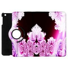 Fractal In Pink Lovely Apple Ipad Mini Flip 360 Case by Simbadda