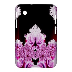 Fractal In Pink Lovely Samsung Galaxy Tab 2 (7 ) P3100 Hardshell Case  by Simbadda
