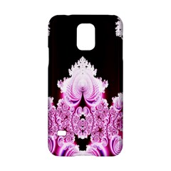 Fractal In Pink Lovely Samsung Galaxy S5 Hardshell Case  by Simbadda