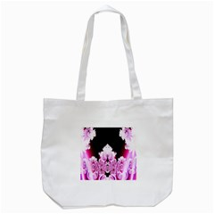 Fractal In Pink Lovely Tote Bag (white) by Simbadda