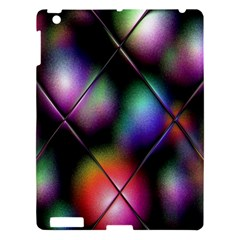 Soft Balls In Color Behind Glass Tile Apple Ipad 3/4 Hardshell Case by Simbadda