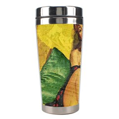 Pin Up Girl  Stainless Steel Travel Tumblers by Valentinaart