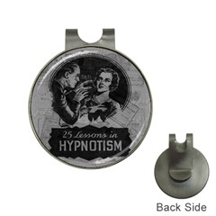 Vintage Hypnotism Hat Clips With Golf Markers by Valentinaart