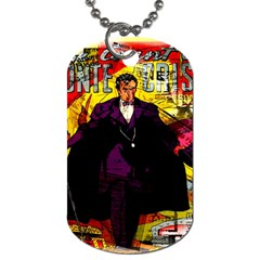 Monte Cristo Dog Tag (two Sides) by Valentinaart