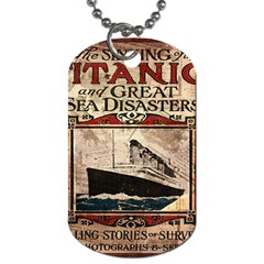 Titanic Dog Tag (two Sides) by Valentinaart