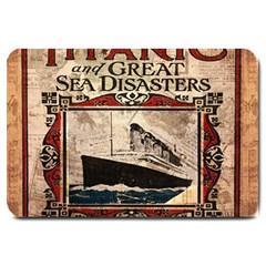 Titanic Large Doormat  by Valentinaart