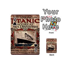 Titanic Playing Cards 54 (mini)  by Valentinaart