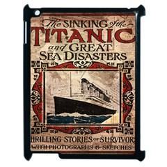 Titanic Apple Ipad 2 Case (black) by Valentinaart