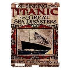 Titanic Apple Ipad 3/4 Hardshell Case (compatible With Smart Cover) by Valentinaart