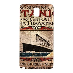 Titanic Samsung Galaxy Note 3 N9005 Hardshell Back Case by Valentinaart