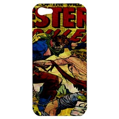 Western Thrillers Apple Iphone 5 Hardshell Case by Valentinaart