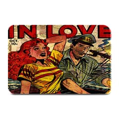 Woman In Love Plate Mats by Valentinaart