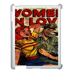 Woman In Love Apple Ipad 3/4 Case (white) by Valentinaart